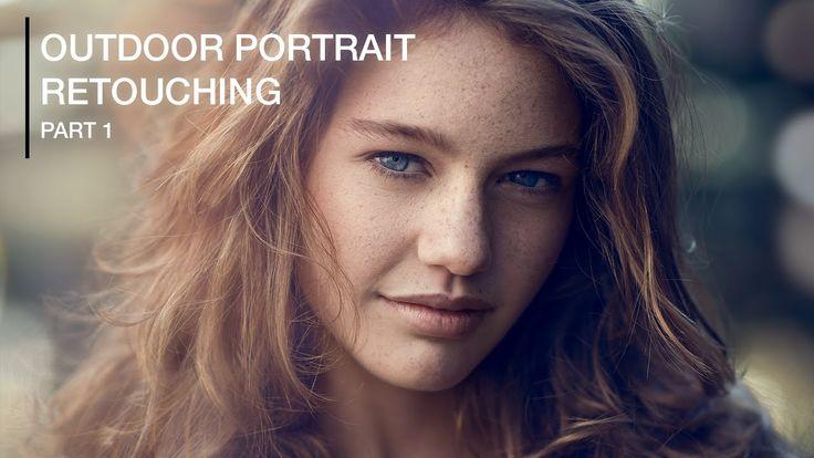 Natural Outdoor Portrait Retouching in Photoshop (Part 1) (+playlist)