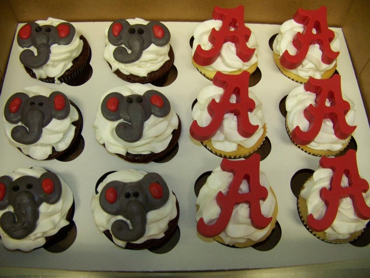 Alabama Cupcakes For My Son S 16th B Day Time To Eat