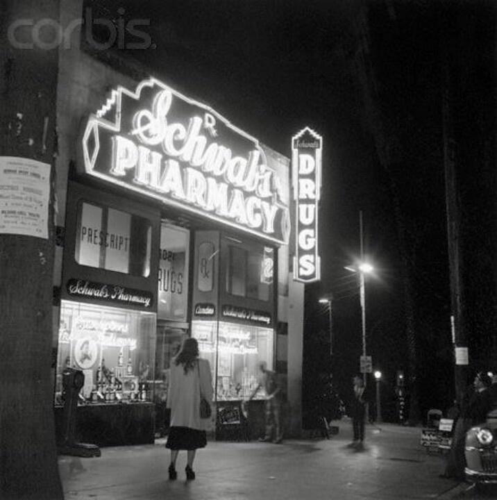Something is. vintage pharmacy photographs reserve