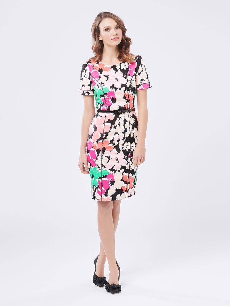 Splash Of Bloom Dress