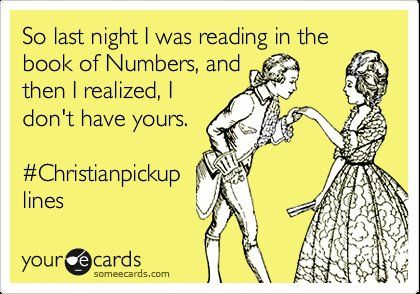 hahahaha #Christianpickuplines @Paige WhitingChristian Pickup Lines, Christian Pick Up, Church, Pick Up Lines, Too Funny, Christian Humor, Christianpickuplines, So Funny, Giggles