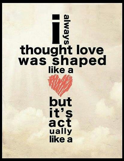 Love is cross-shaped... To love unconditionally...More at http://quote-cp.tumblr.com