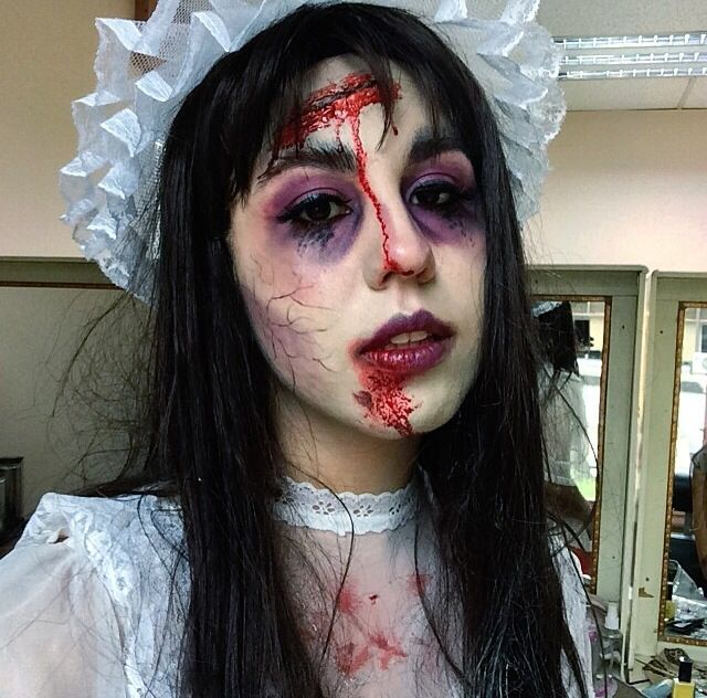 Novia zombie.