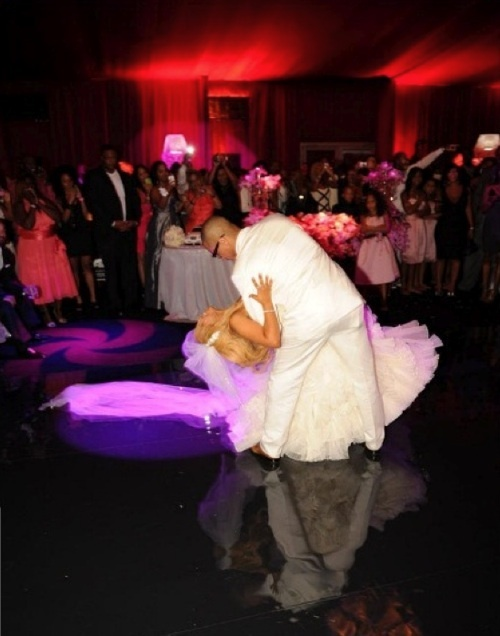 TI & Tiny wedding