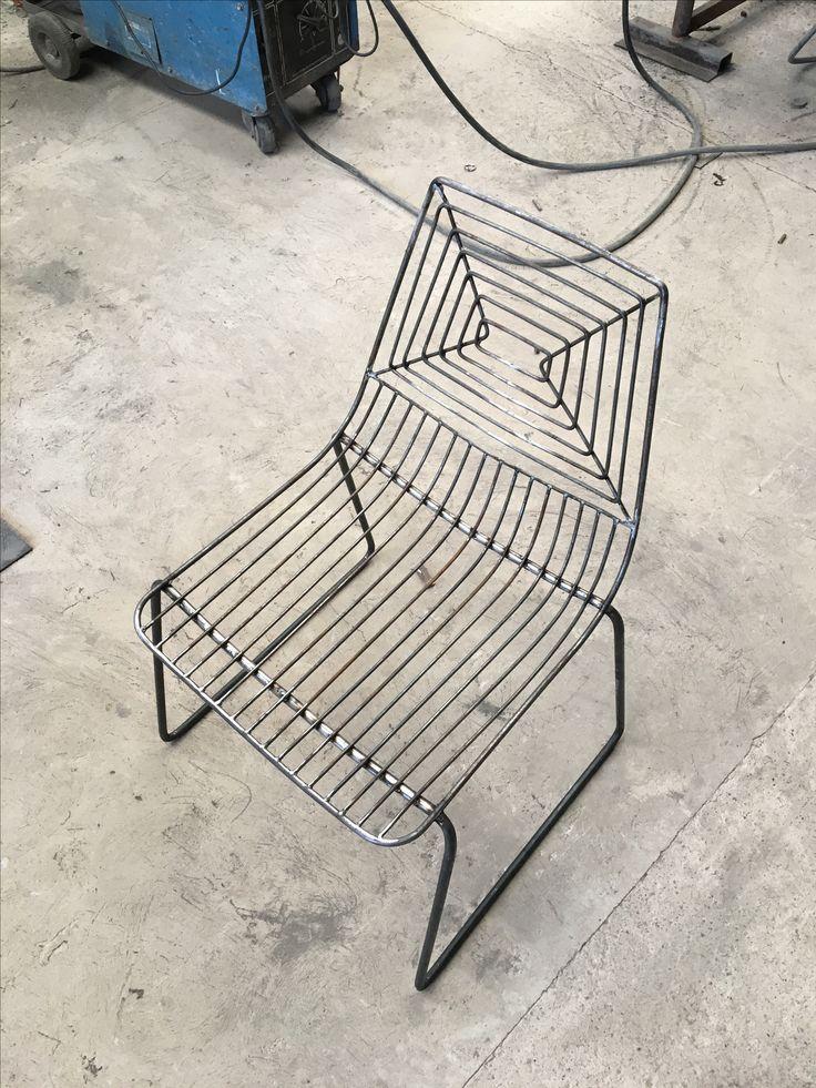M s de 25 ideas incre bles sobre silla de alambre en for Sillas para kiosco