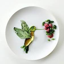 Image result for hummingbird food art