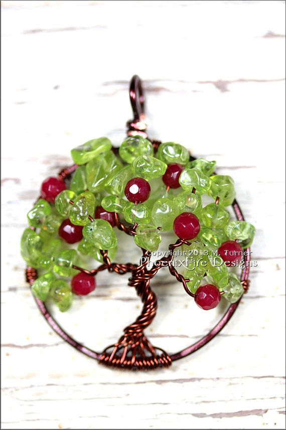 Apple Tree Tree of Life Pendant with by PhoenixFireDesigns, $60.00