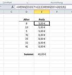 Wenn-Dann-Funktion in Excel: Anwendung + Beispiele – Emilia Ribeiro