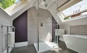 A new bathroom in the old loft. Get your with www.bzbuildingdreams.co.uk