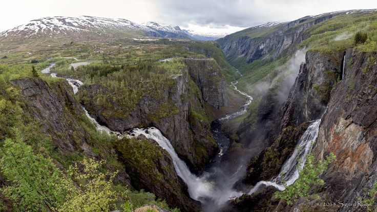 Vøringsfossen and Måbødalen by Sigurd Rage on 500px