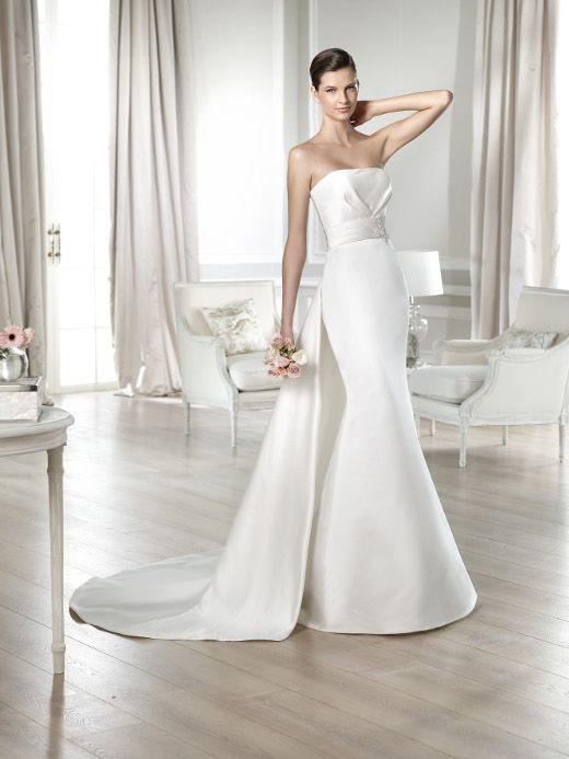 64 best trumpeting in a new white dress images on pinterest wedding dresses white one janin 2014 junglespirit Choice Image