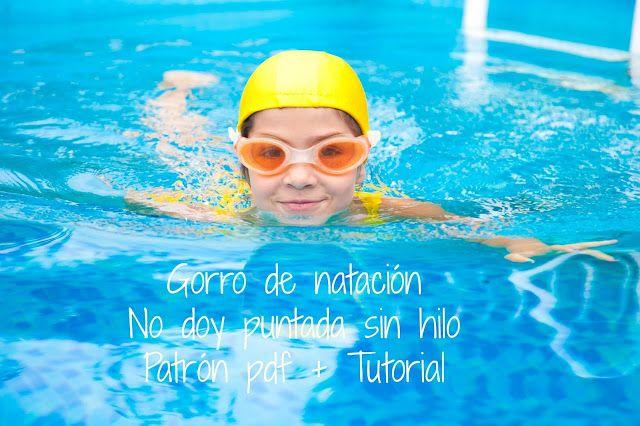 No doy puntada sin hilo: Gorro natación. Patrón 4 años