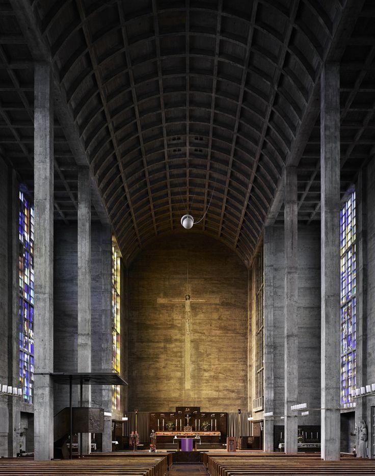 Fotografia: Igrejas Modernas de Meados do Século por Fabrice Fouillet,© Fabrice Fouillet