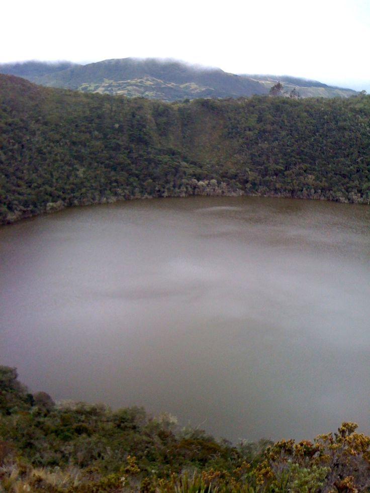 Laguna de Guatavita, Colombia.