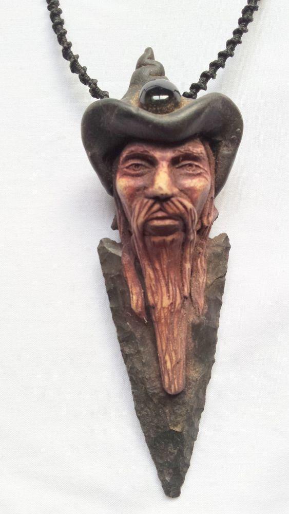 beautiful pendant humen face artificial stone wearing cap #Pendant