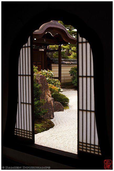 Window at the Kennin-ji Temple
