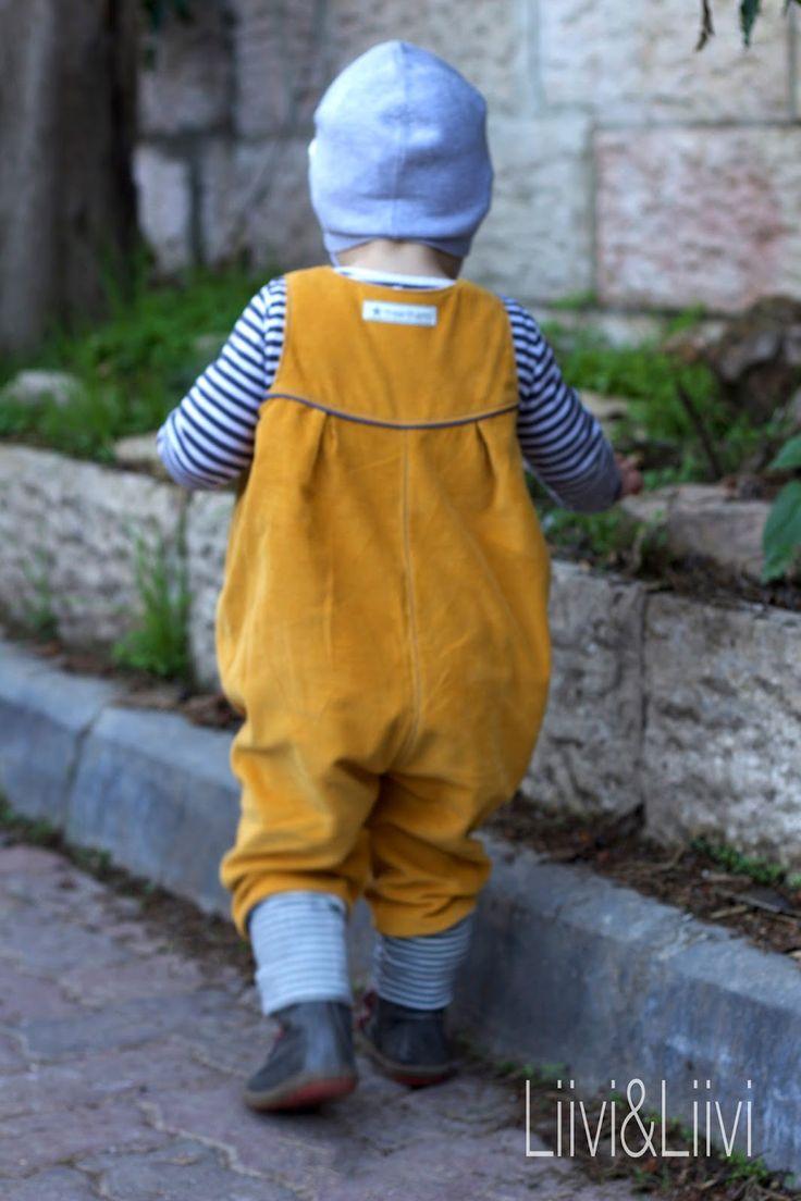 Wenn ich das Wort 'Latzhose' höre, denke ich zwangsläufig an die 80erJahre und steife Jeanslatzhosen für Schwangere. Oder an meine eigene K...