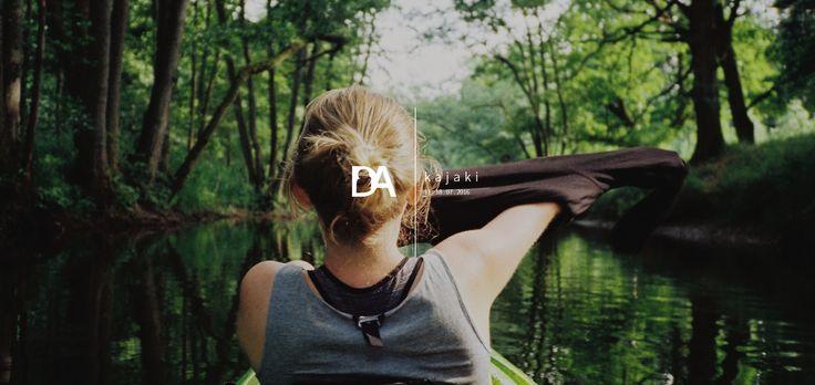Profil internetowy (Tumblr) wyjazdu wakacyjnego DA (Kajaki).