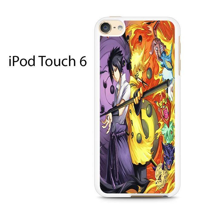 Naruto Dan Sasuke Rikudo Sennin Ipod Touch 6 Case