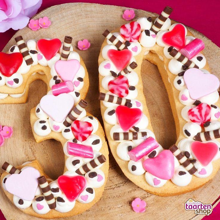 Recipe: Cookie Cake - Number Cake | Deleukstetaartenshop.com