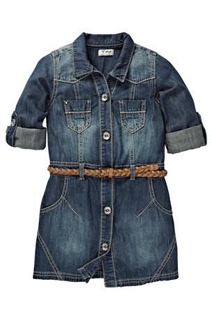 Buy Denim Shirt Dress (3-16yrs) from the Next UK online shop