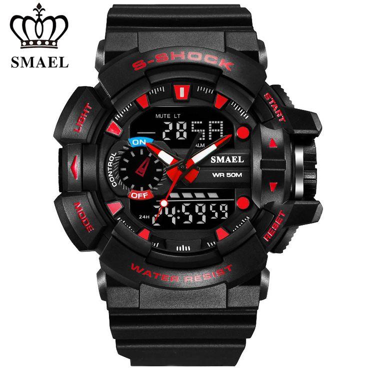 2017 Sport Digital Wrist Watch Men Shockproof Led Military Army G S Male Relogio Masculino Hodinky Shock Alarm Hand Ceasuri 36