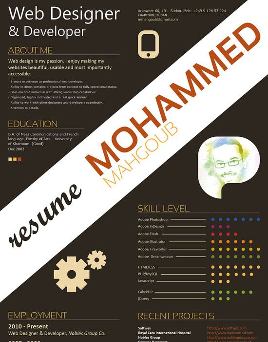 32 best Graphic design  logos images on Pinterest Creative resume