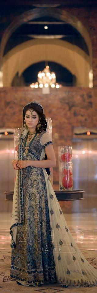 Pakistani wedding dress. Pakistani bride