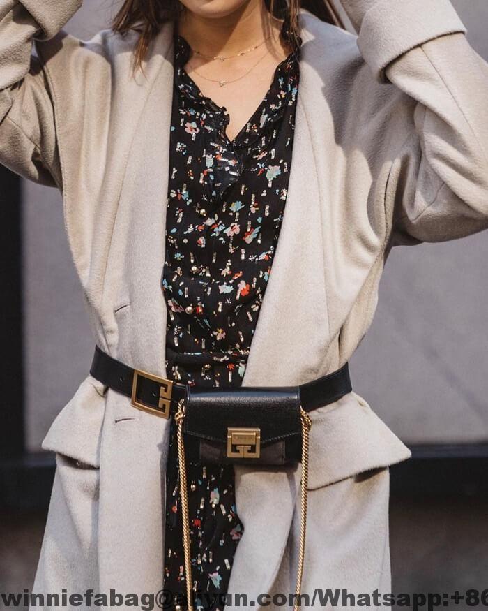 fe59d43eb1 Givenchy Nano GV3 Belt Bag | Givenchy | Givenchy, Bags, Chanel