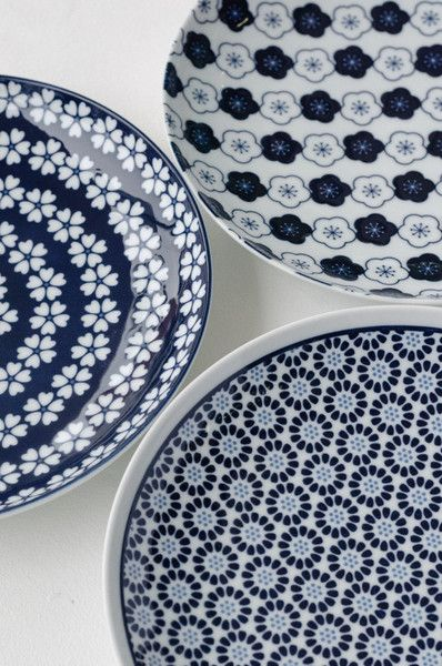 Beautiful Japanese plates