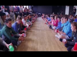"""Oh my gosh, you have got to watch and listen to it. Beautiful!!!  Irish version of the """"Cups"""" song."""