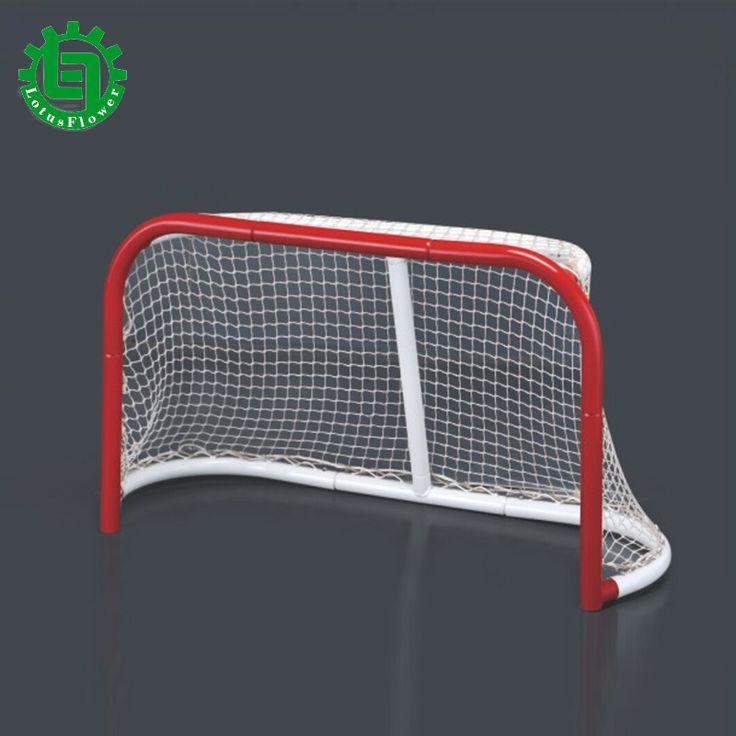 Mini de Alta Calidad Calle hockey Objetivo/Mini Calle Hockey Objetivo Desmontable Plegable para Niños/Mini palo De Hockey Hielo Portería de fútbol