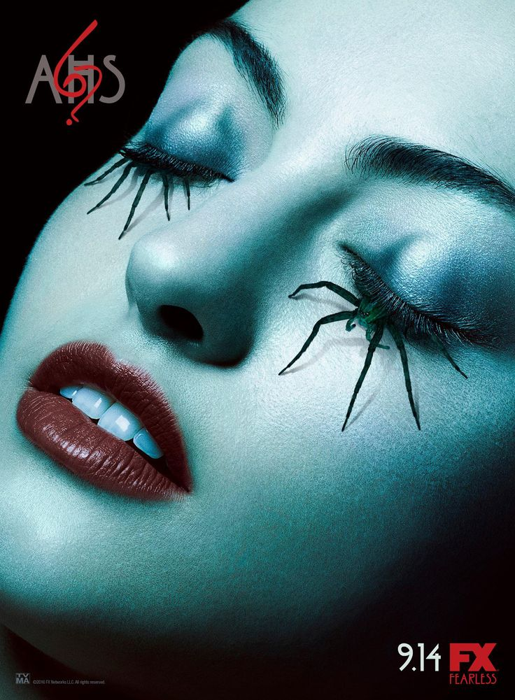 They knew some of us would fall asleep during the premiere. American Horror Story 6 Poster