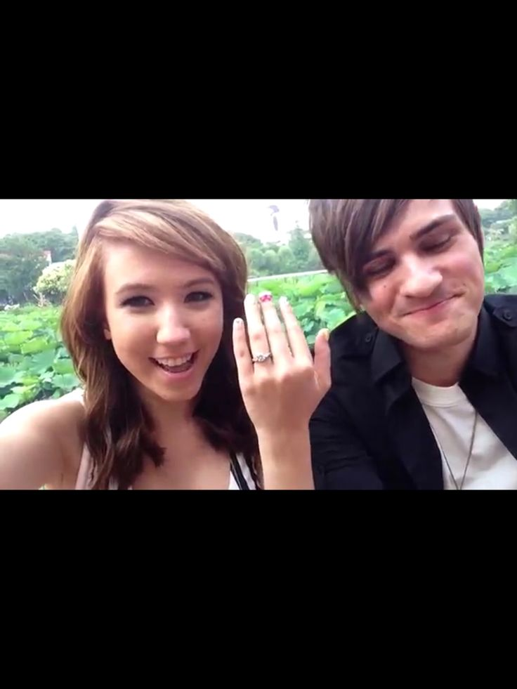 ANTHONY PADILLA FROM SMOSH AND HIS GIRLFRIEND KALEL CULLEN ...