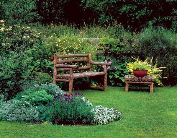 Hardscape Essentials bench-garden http://bretmarlandscape.com/hardscape-essentials-takes-plants-make-landscape/
