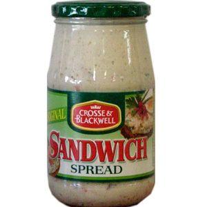 Sandwich Spread Crosse and Blackwell - http://www.saffatrading.co.za/pCRO/Sandwich-Spread-Crosse-and-Blackwell.aspx