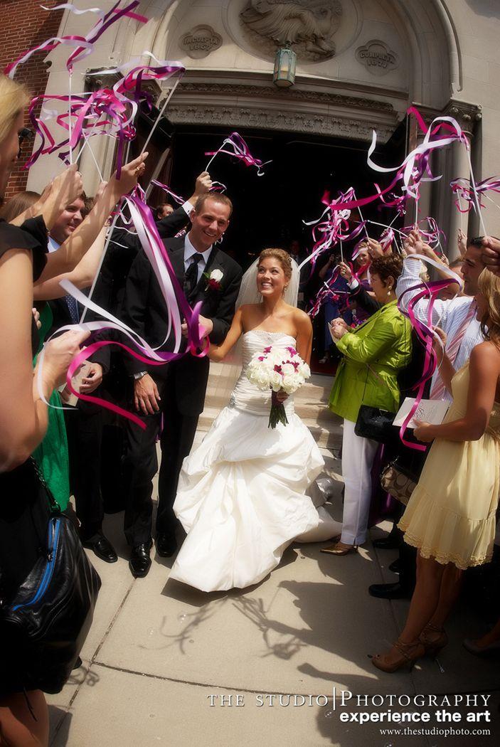 Wedding Wand Departure:  Indiana Roof Ballroom Wedding Indianapolis- Kim King Smith Events