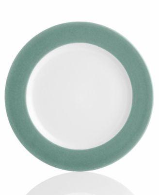 "Noritake ""Colorwave Green Rim"" Salad Plate"