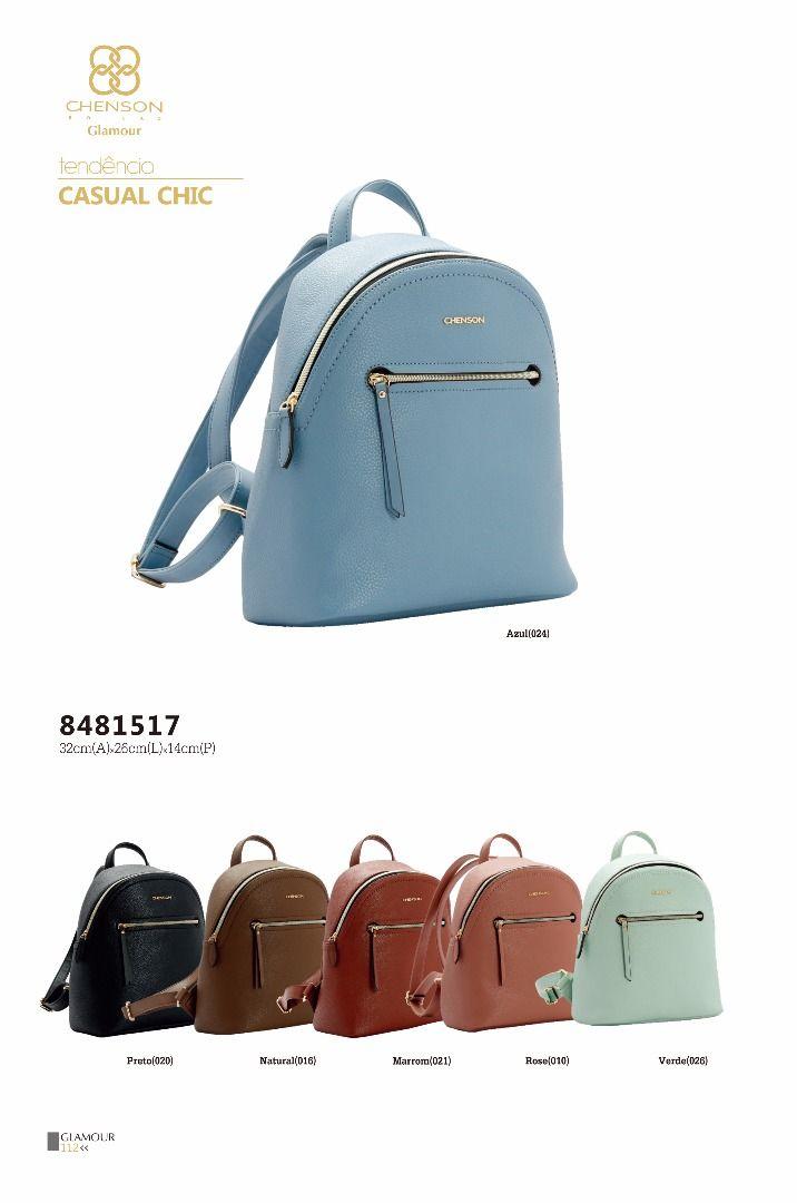50a288cd1 Bolsa mochila feminina Chenson 8481517 - Bergamoda Bolsas e Acessórios