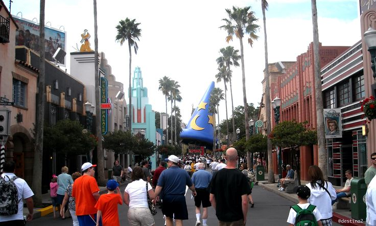 Disneyworld.- Hollywood Studios de Disney