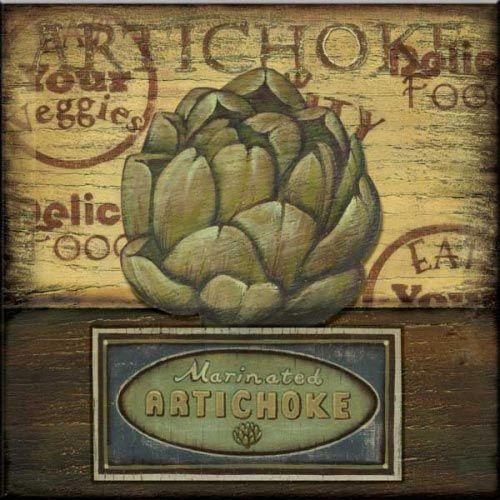 CA-Poster Artichoke - Accent Tile