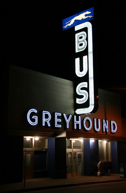 Greyhound Bus Station. My Uncle Paul was a Manager of a Greyhound Bus Station in Lima,OH – Patty Coates