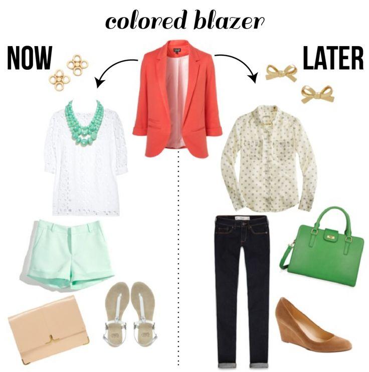 colored blazer | now & laterCoral Blazers, Teachers Wardrobes, Southern Charms, Fashion Teachers, Teachers Clothing, Colors Blazers, Classroom Clothing, Clothing 1Itemmulti, Teachers Style