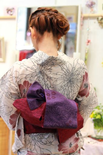 kimono yukata 着物 ゆかた 着付け ヘアメイク アトリエパルファン http://www.kcc.zaq.ne.jp/atelier-parfum/ 神戸 六甲道 美容室