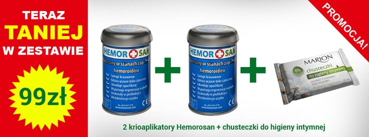 Hemorosan na hemoroidy - Innowacyjna metoda na hemoroidy