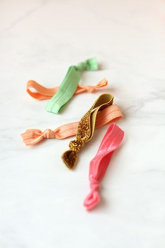 Rather than buying, trying making! 10 Pretty DIY Hair Accessories via Babble