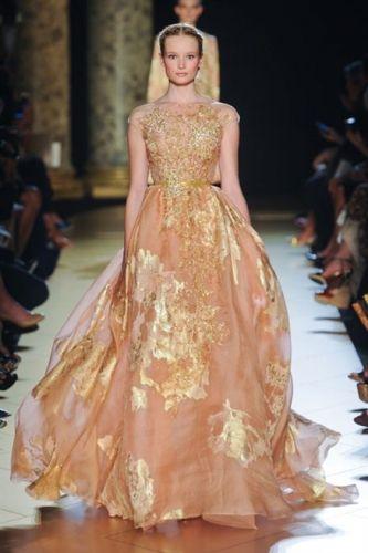 Les plus belles robes des défilés haute couture automne-hiver 2012-2013, les photos : FULL LENGTH haute couture ELIE SAAB RF12 0502