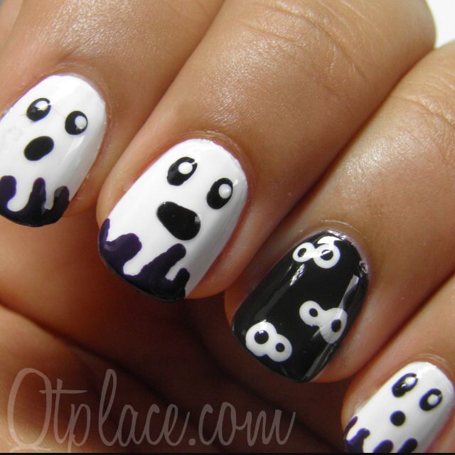 37 best holiday nail art d images on pinterest nail scissors this is my very first halloween nail art design i was planning on doing a lot more halloween nail art tutorials but i will save it for next year prinsesfo Choice Image