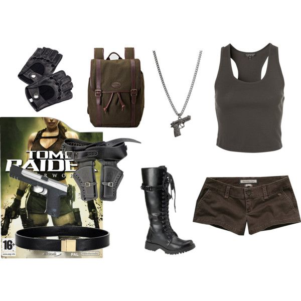 """lara croft underworld"" by sherlockallday on Polyvore"