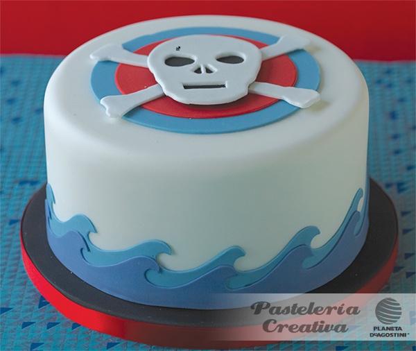 Cake Art By Rabia : Fasciculo 10 de Pasteleria Creativa - Pastel pirata ...